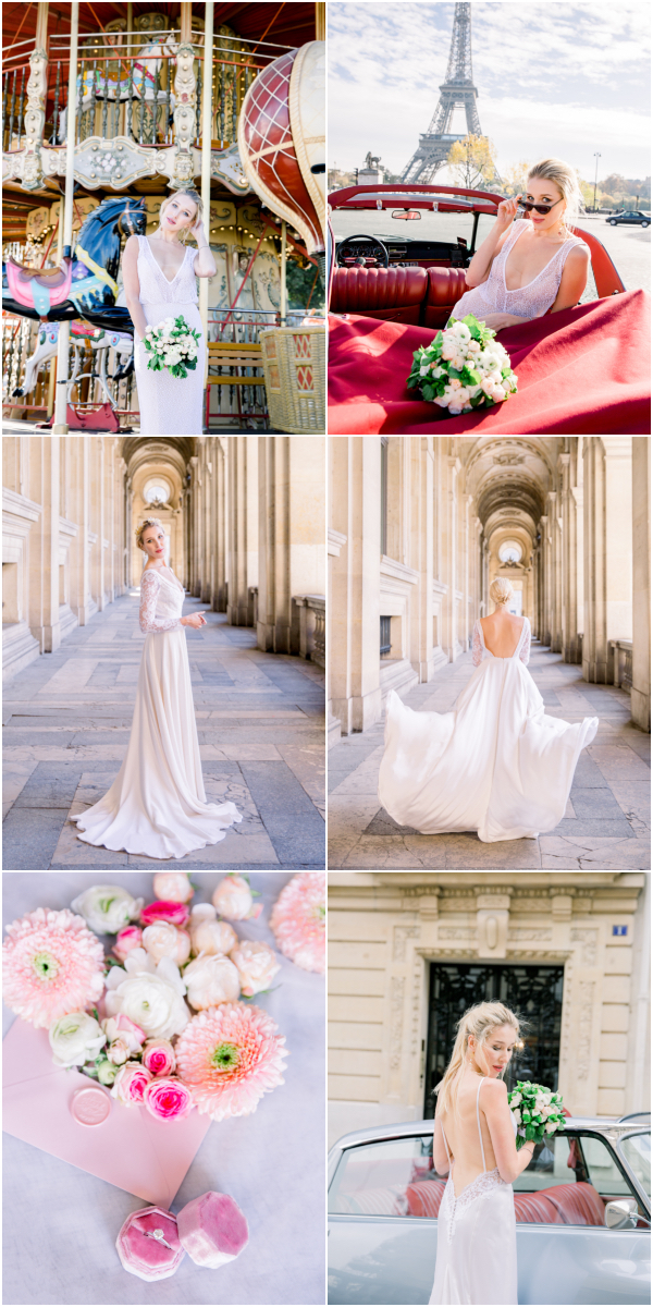 Paris Bridal Style Snapshot