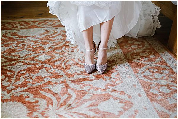 Pretty Bridal Wedding Shoes