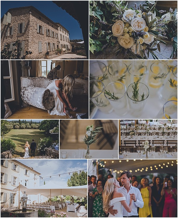 Relaxed wedding in Grasse Provence Snapshot