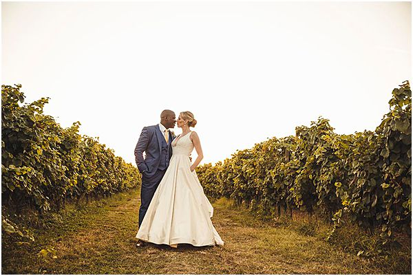 Romantic Couple France Wedding