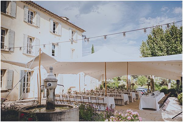 Romantic French Venue with Marquee