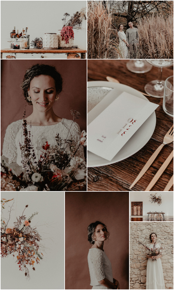 Romantic French Winter Wedding Inspiration Snapshot