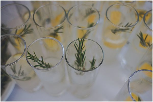 Rosemary and Lemon Drinks