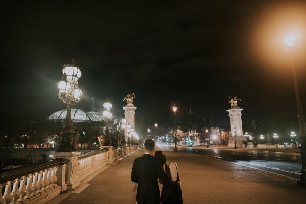 Rougon France at Night