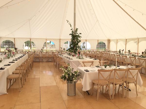 11 Elian Concept Weddings Marquee Wedding France Petal Tent Wedding Decoration