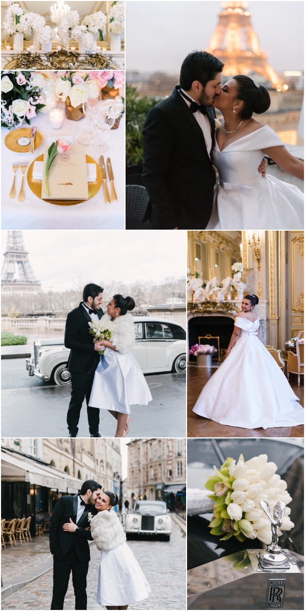 Brazilian wedding at Shangri-La Paris Snapshot