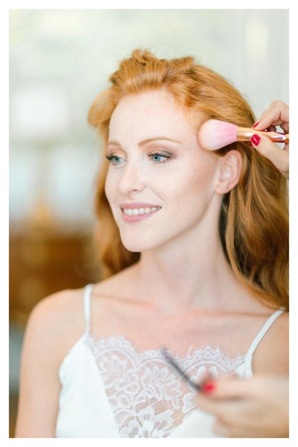 Bridal Contour Makeup