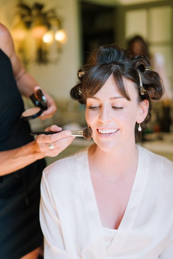 Bridal makeup france