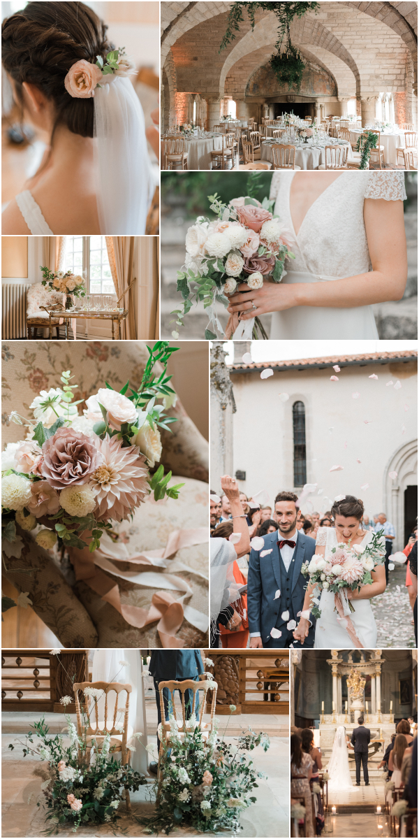 Burgundy wedding at Chateau de Hattonchatel Snapshot