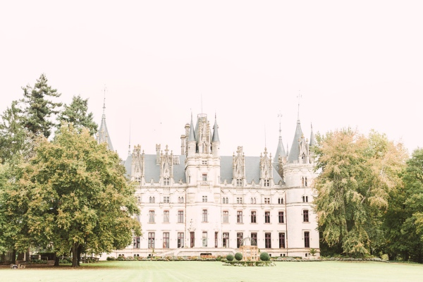 Central France Castle Wedding