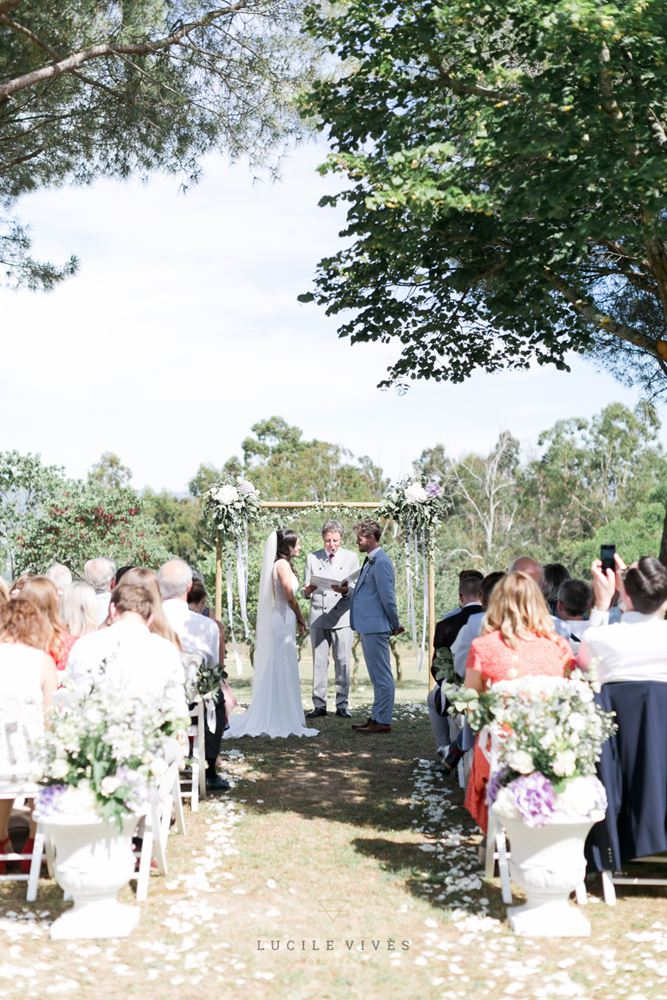 Ceremony Domaine Michaud