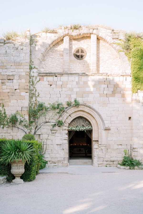 Château Grimaldi outside