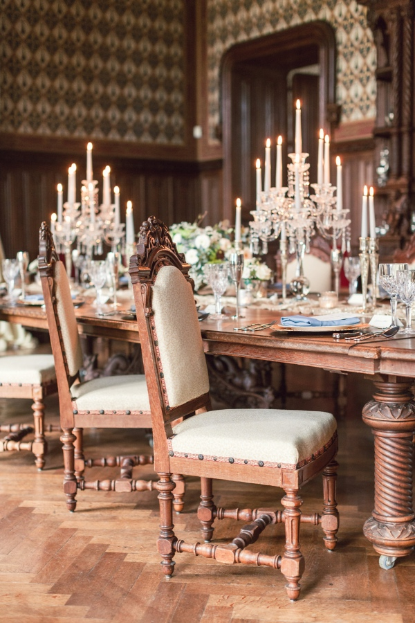 Chateau Challain Table Design