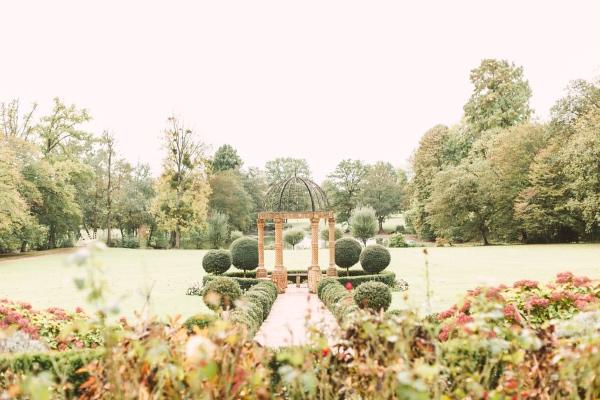 Chateau Challain Venue Gardens