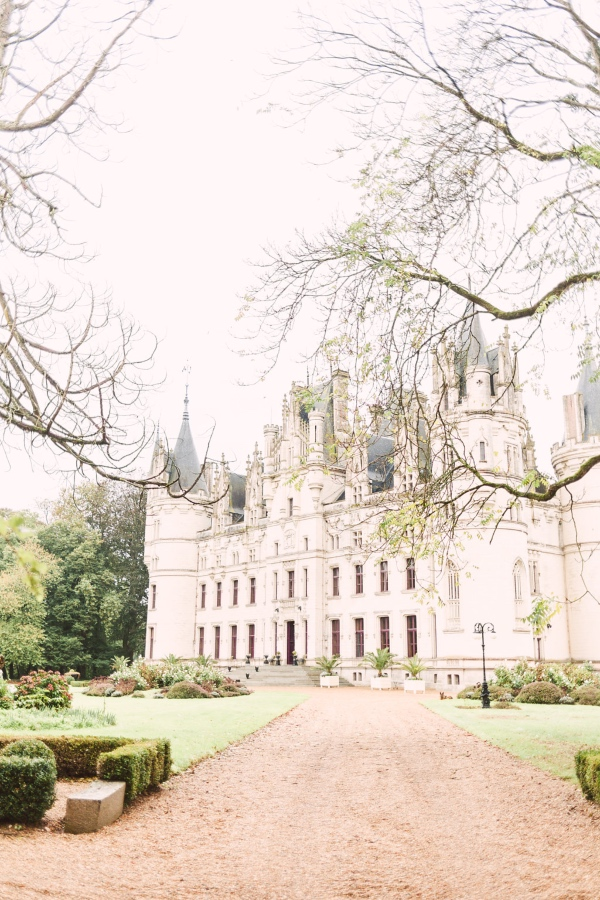 Chateau Challain central france venue