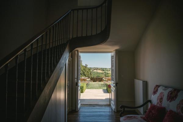 Chateau de Redon hallway