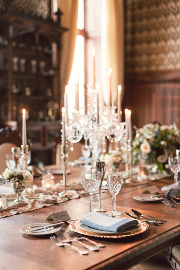 Chic and Elegant French Wedding Design