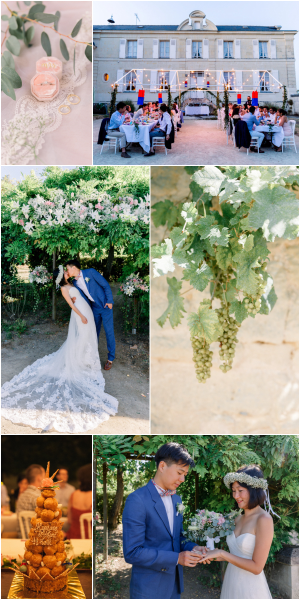 DIY Wedding in Loire Valley France Snapshot