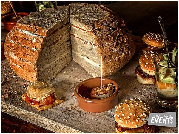 French Wedding and Event Caterer Bread and Cheese