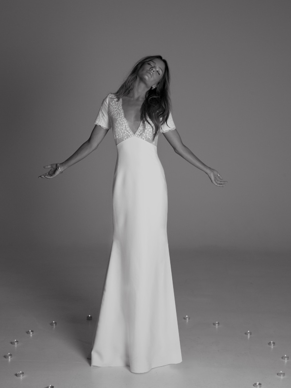 Hourglass Bridal Dress