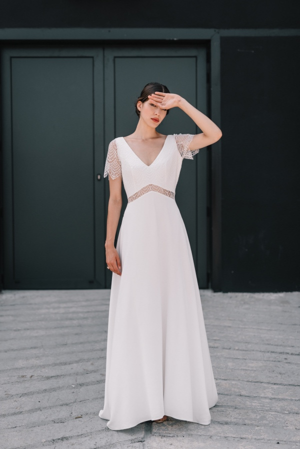 Inverted Triangle Wedding Dress