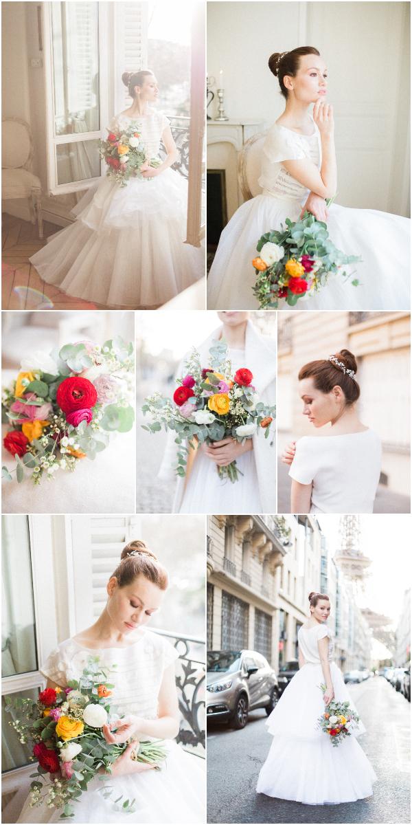 Luxe Vibrant Paris Bridal Inspiration Snapshot