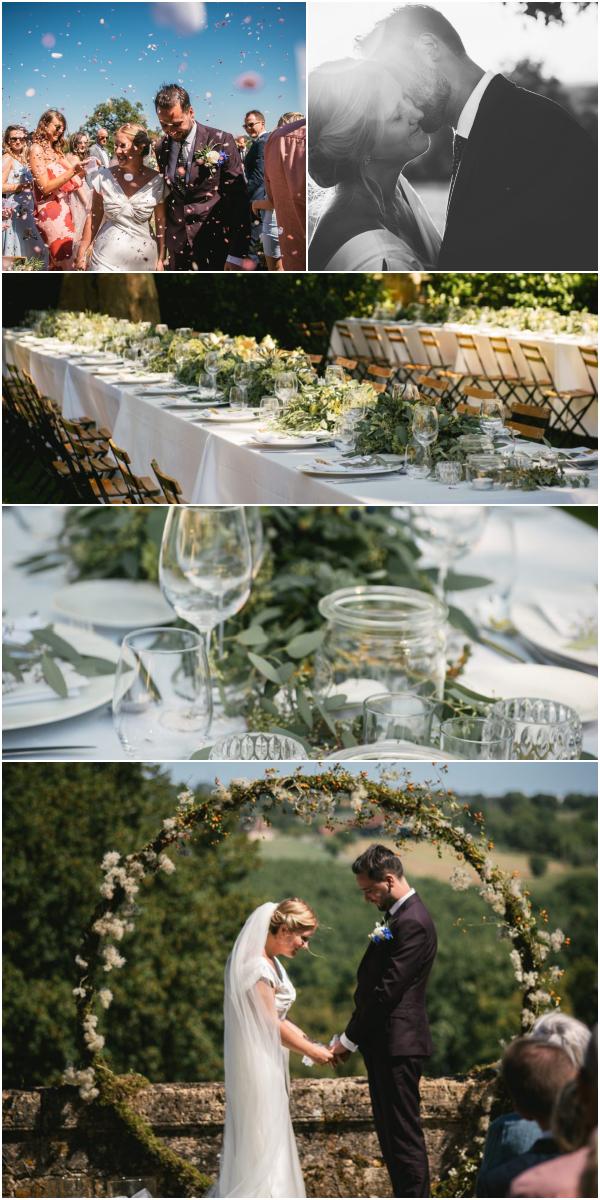 Magical Chateau de Redon Wedding Snapshot