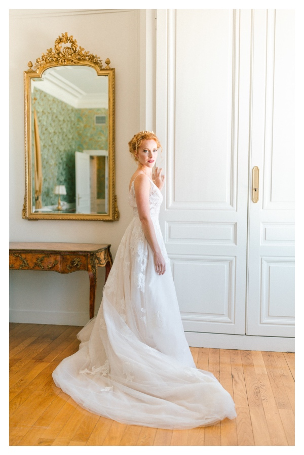 Romantic French Bridal Gown