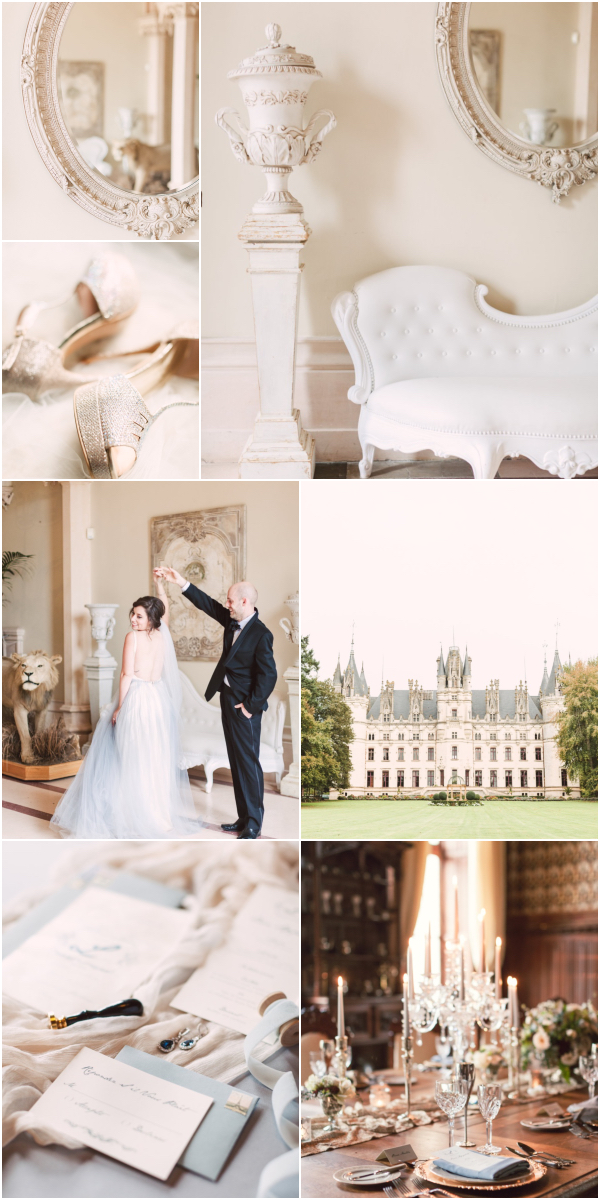 Romantic wedding at Chateau Challain Snapshot