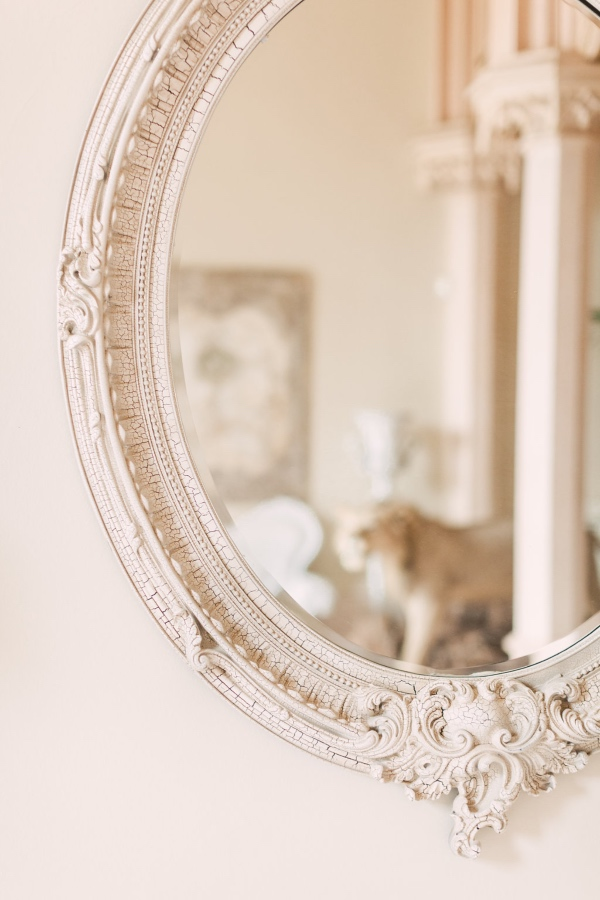Vintage Chic French Mirror