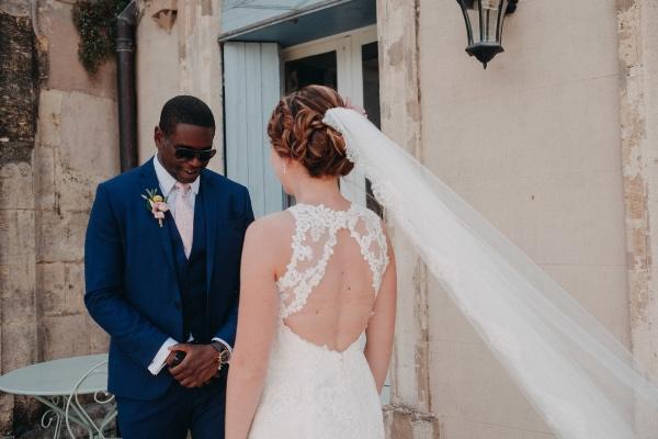 back detail wedding dress