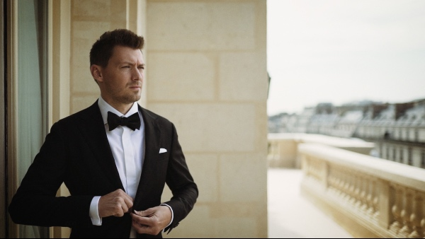 black bowtie groom paris