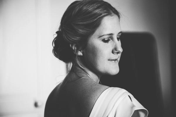 bridal shoulder dress