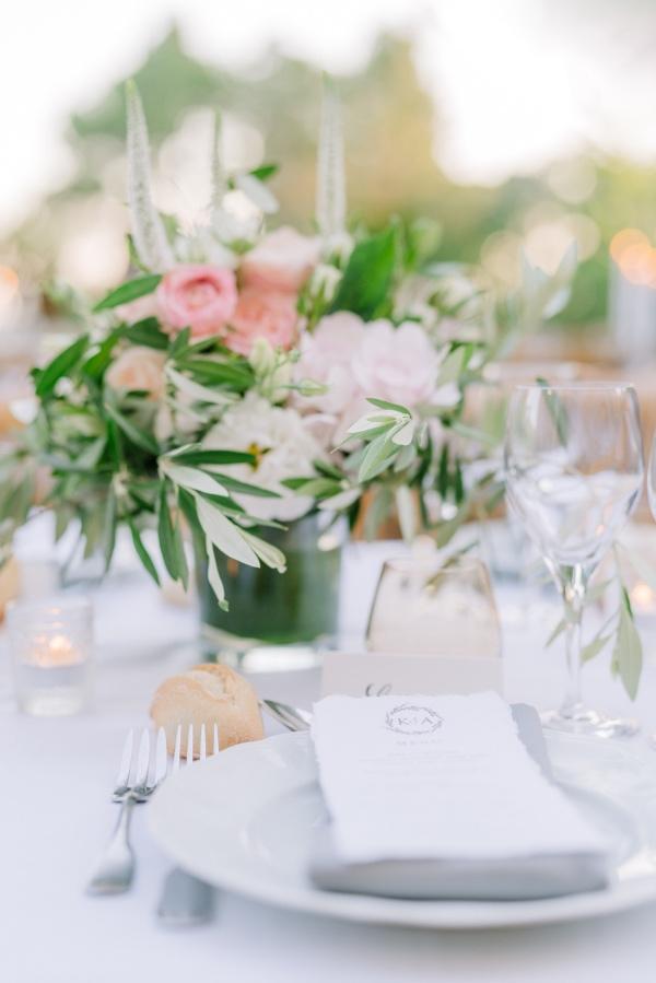 chateau chic wedding decor
