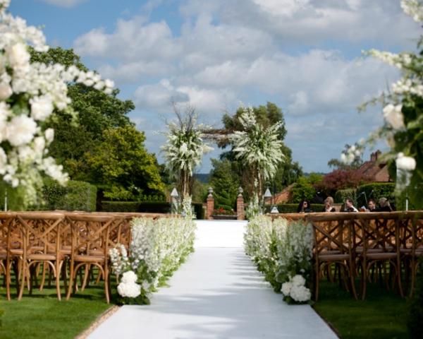 destination wedding flowers france