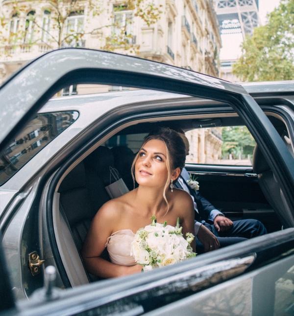 elegant bridal pose
