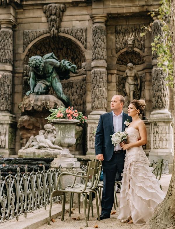 elegant romantic paris elopement