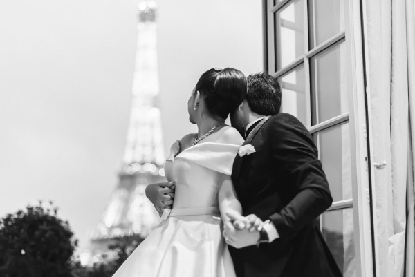 fairytale couple wedding france