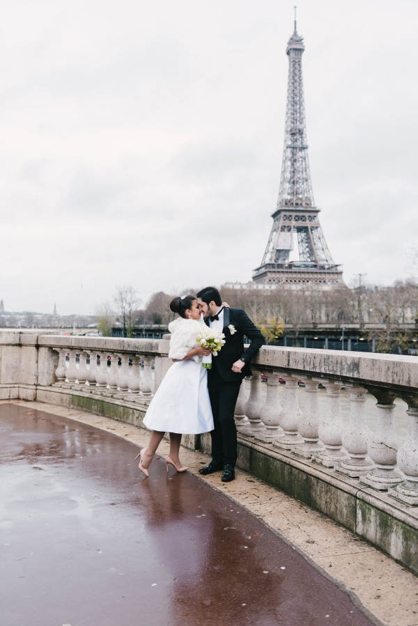 fairytale wedding eiffel tower