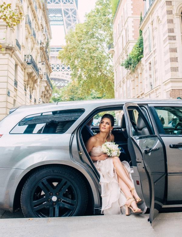 france bride car
