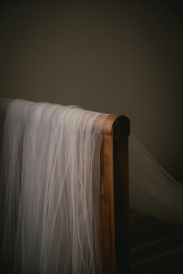 french bridal veil