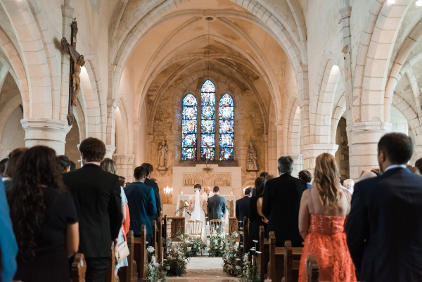 french church wedding ceremony