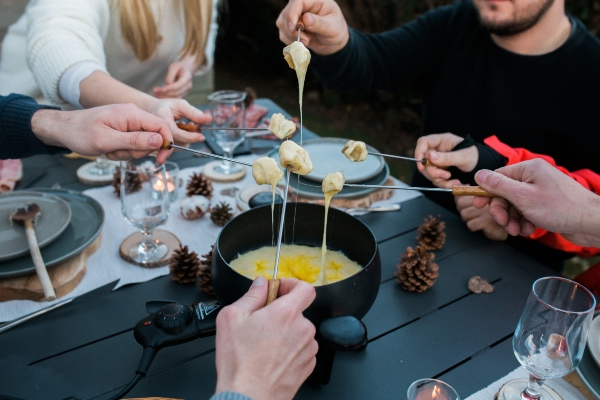 french fondue engagement