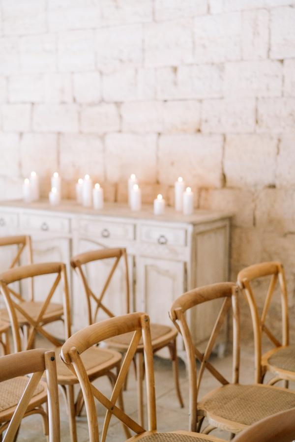 french indoor ceremony