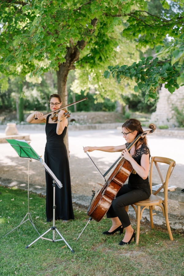 french violinist band