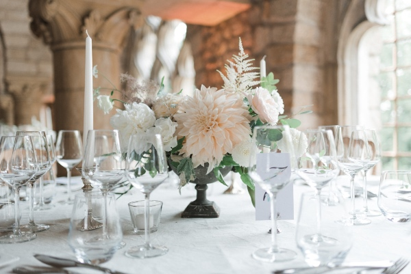 french wedding table design