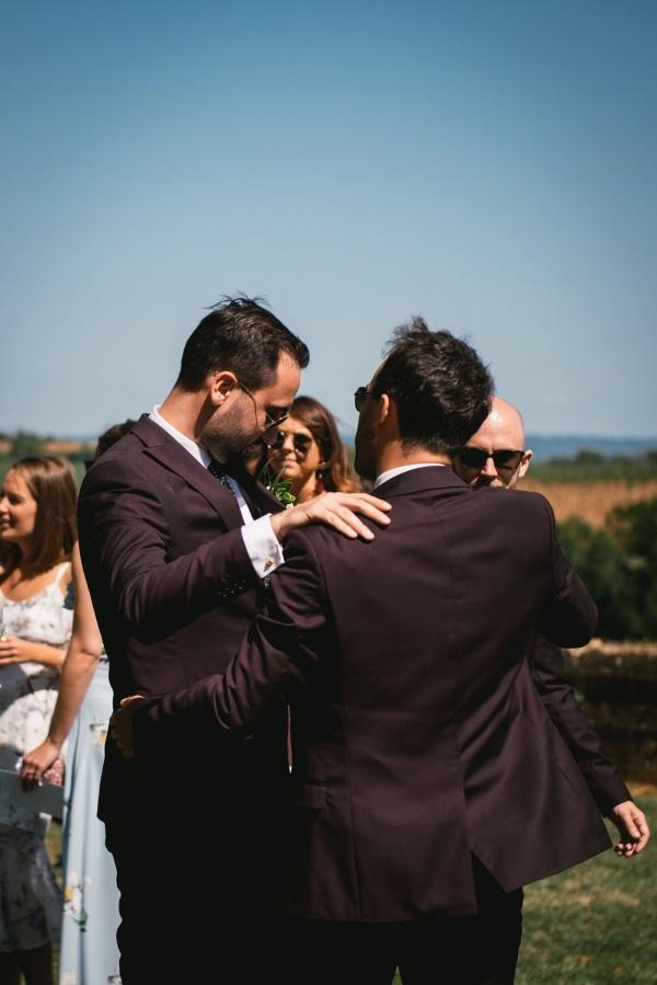 groom pre wedding suit