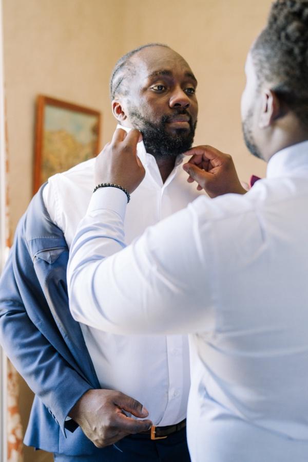 groom preperation france
