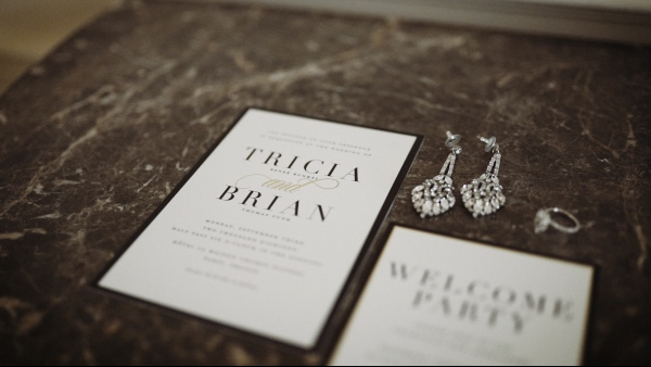 luxe wedding stationery