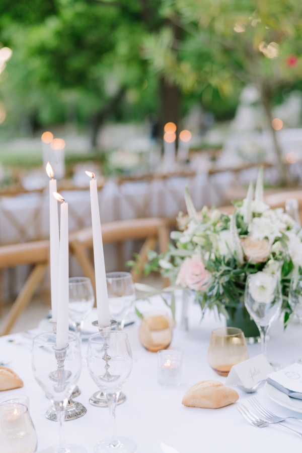 minimalist wedding decor